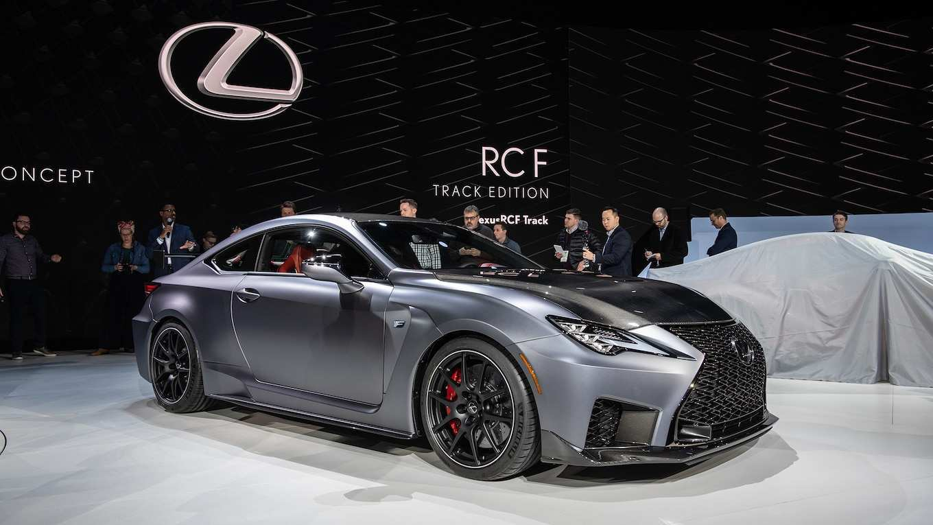 41 Great 2020 Lexus Rc F Track Edition Configurations for 2020 Lexus Rc F Track Edition