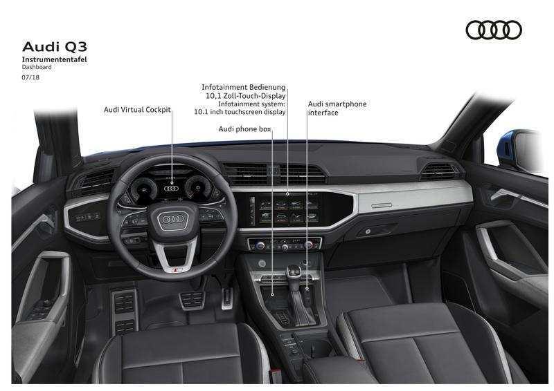 43 All New 2020 Audi Q3 Interior Redesign by 2020 Audi Q3 Interior