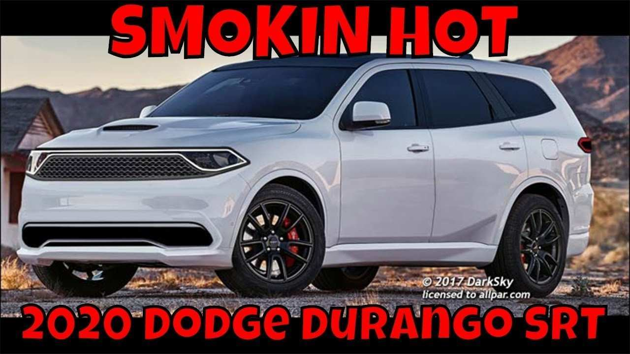 43 Gallery of When Does The 2020 Dodge Durango Come Out Interior for When Does The 2020 Dodge Durango Come Out