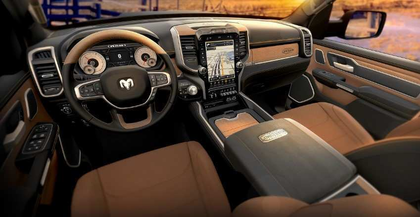 44 Concept of 2020 Dodge Ram Interior Style for 2020 Dodge Ram Interior