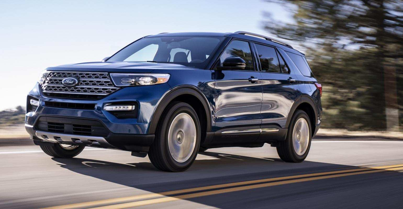 44 Gallery of Ford New Explorer 2020 Speed Test for Ford New Explorer 2020