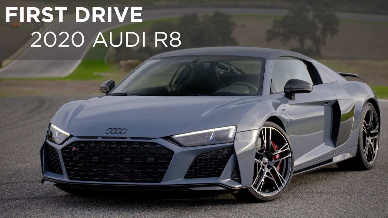 45 All New 2020 Audi R8 V10 Performance Release by 2020 Audi R8 V10 Performance