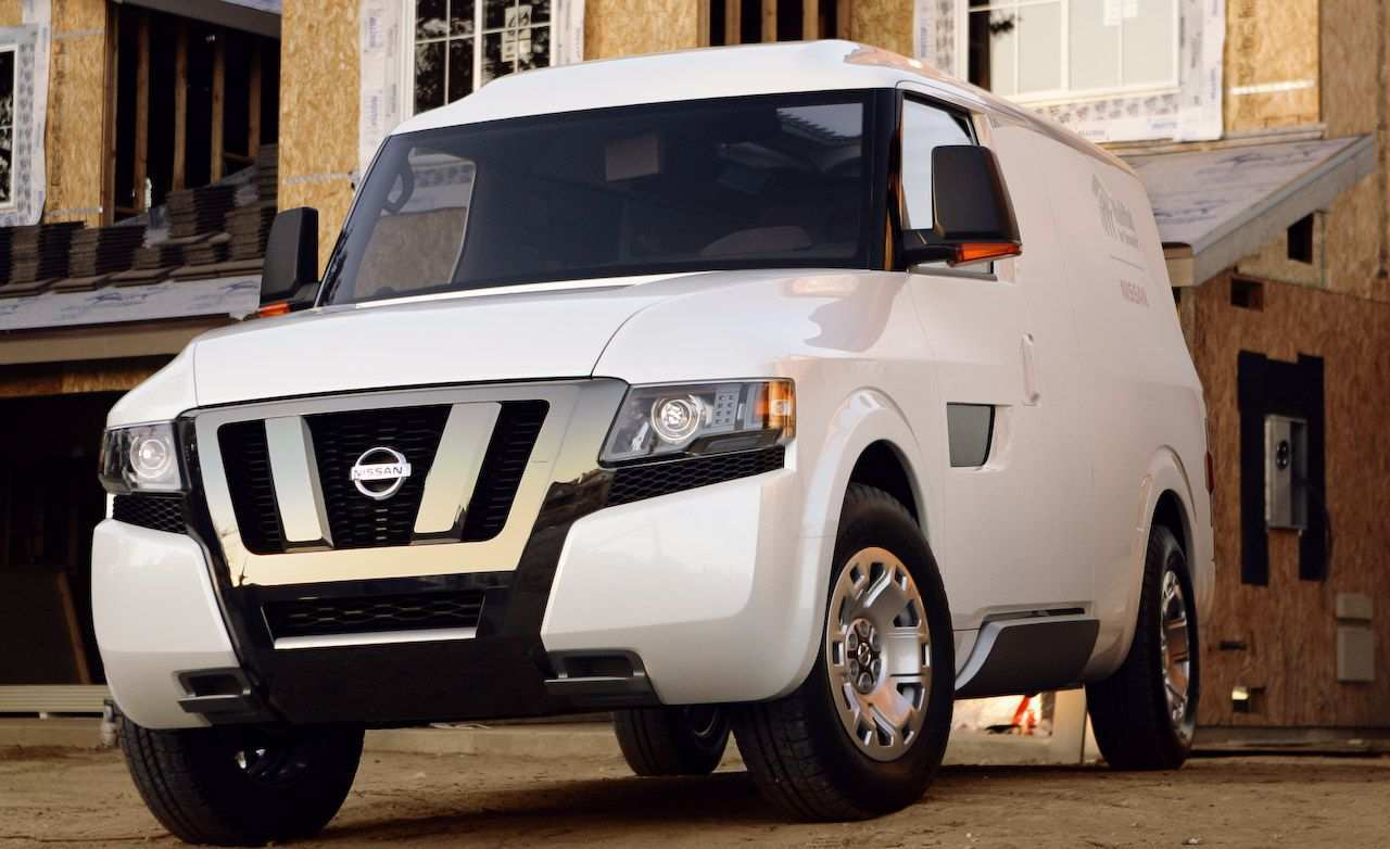 45 Concept of Nissan Nv 2020 Spy Shoot by Nissan Nv 2020