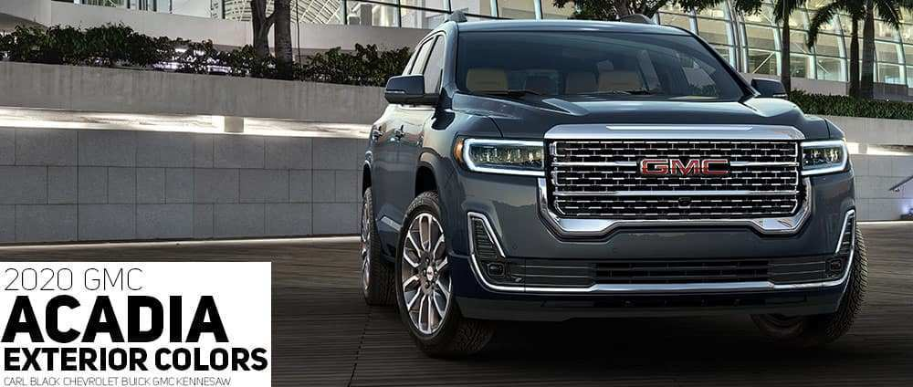 46 Concept of Gmc Colors For 2020 Pricing with Gmc Colors For 2020