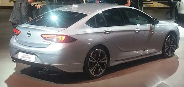 46 Great Yeni Opel Insignia 2020 Exterior with Yeni Opel Insignia 2020
