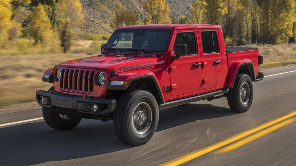 46 The 2020 Jeep Gladiator Release Date Performance by 2020 Jeep Gladiator Release Date