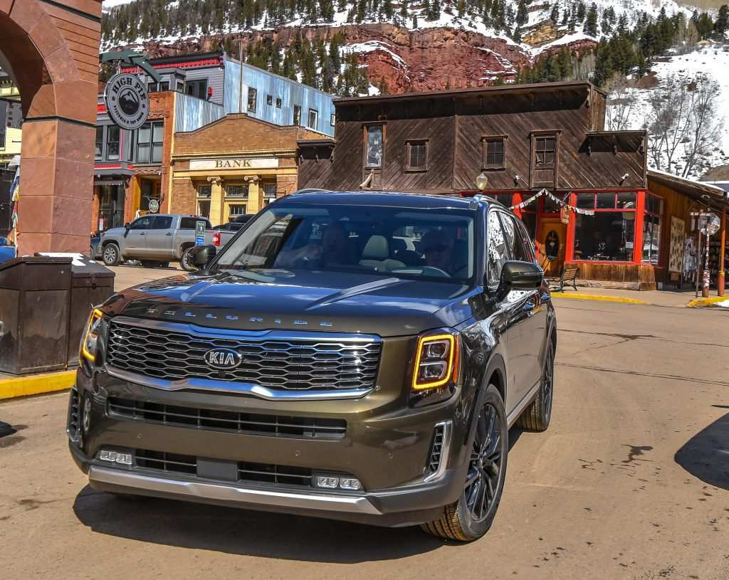 47 Best Review 2020 Kia Telluride Video Exterior with 2020 Kia Telluride Video
