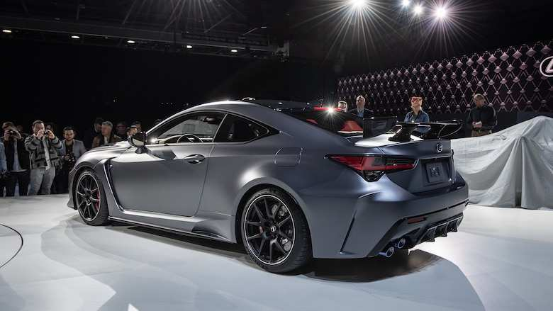 47 Best Review 2020 Lexus Rc F Track Edition Specs Redesign by 2020 Lexus Rc F Track Edition Specs