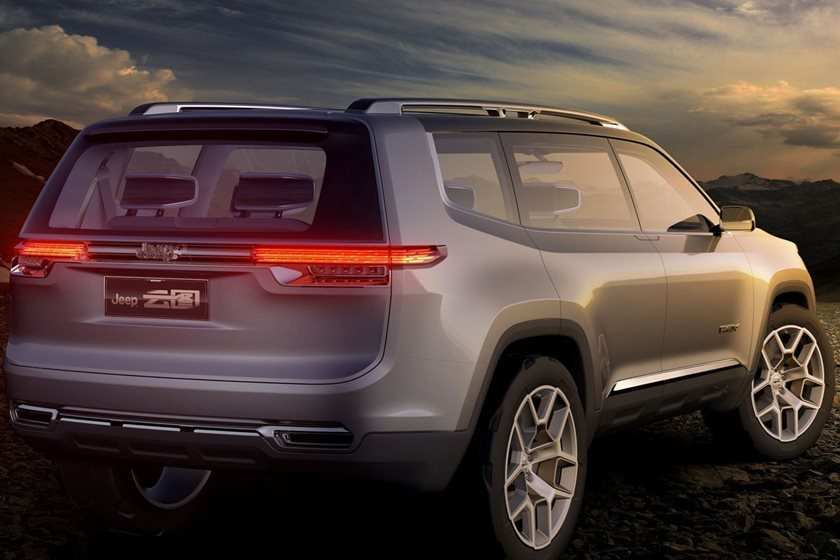 47 Gallery of Jeep Grand Cherokee 2020 Redesign Interior with Jeep Grand Cherokee 2020 Redesign
