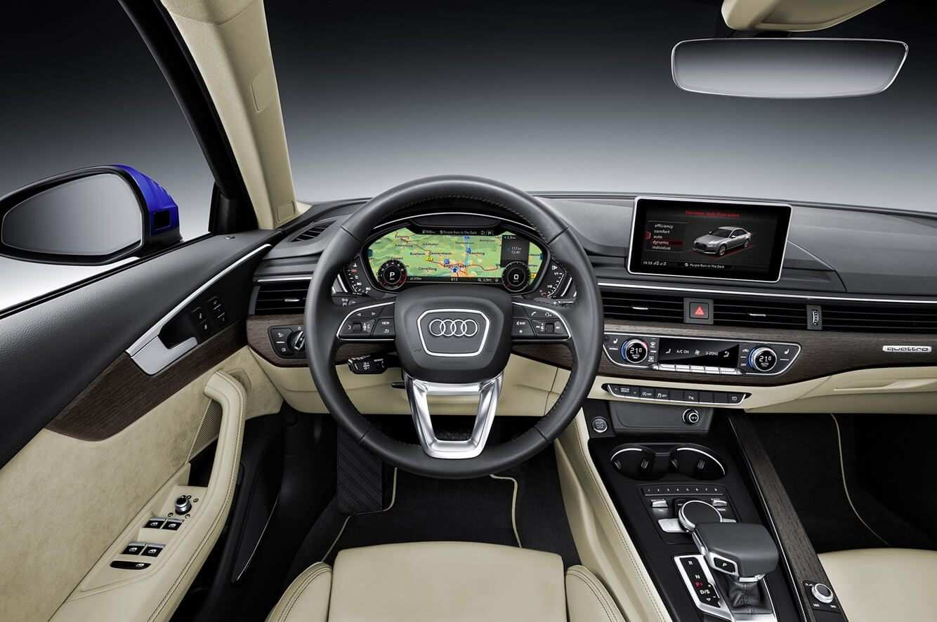 47 New New Audi A4 2020 Interior Performance for New Audi A4 2020 Interior