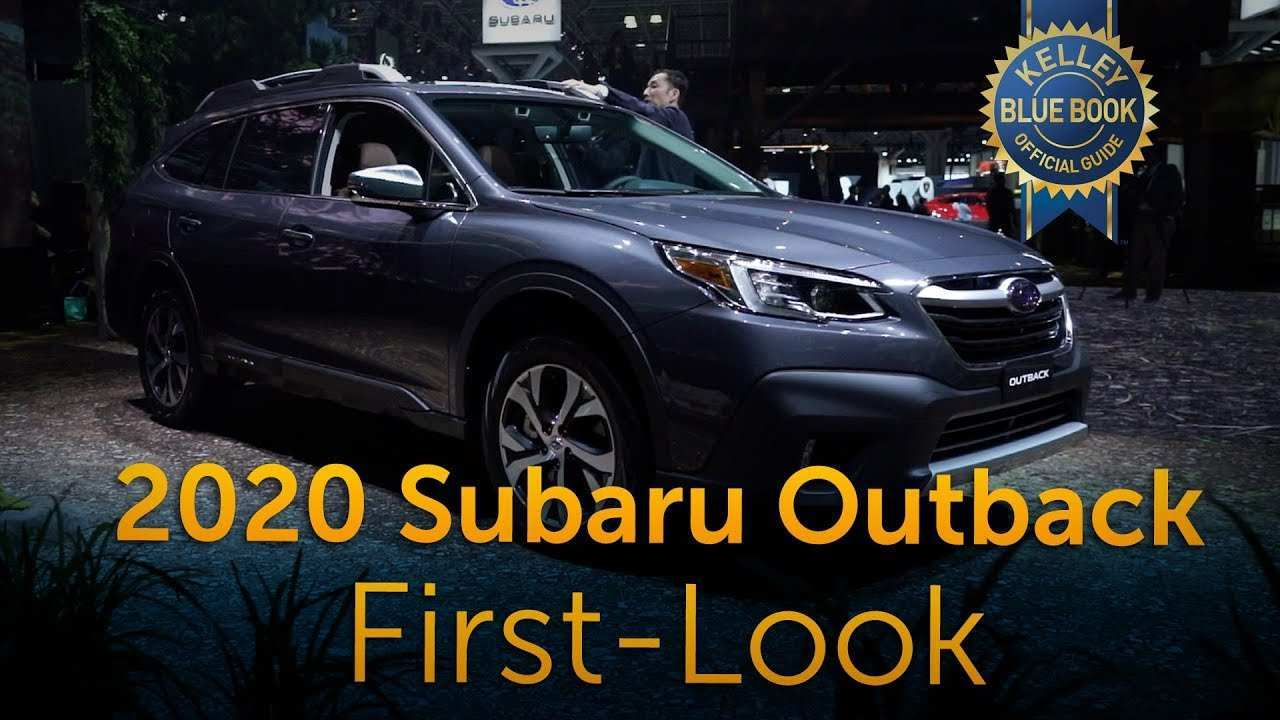 48 Best Review 2020 Subaru Outback Jalopnik Specs with 2020 Subaru Outback Jalopnik