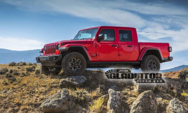 48 Concept of 2020 Jeep Pickup New Concept with 2020 Jeep Pickup