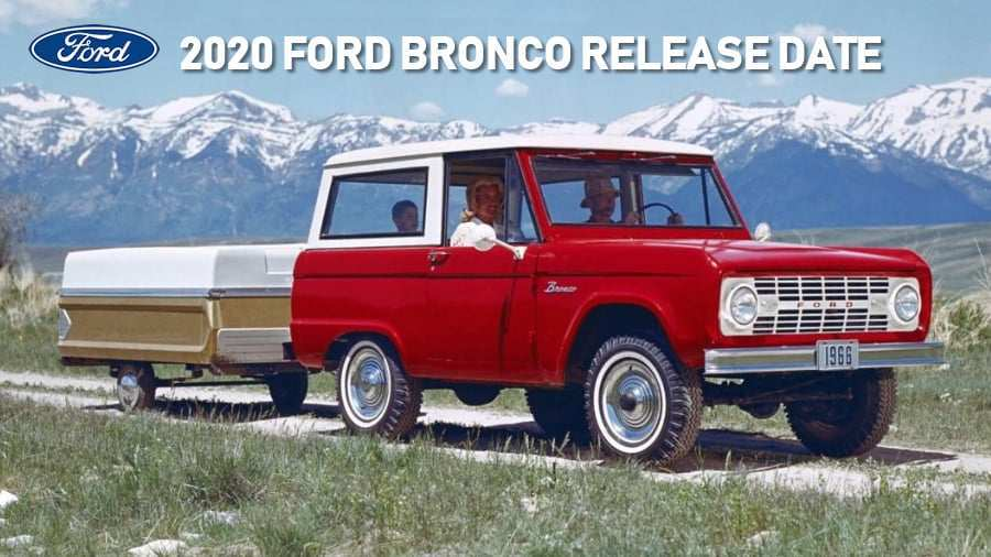 48 New Price Of 2020 Ford Bronco Release Date by Price Of 2020 Ford Bronco