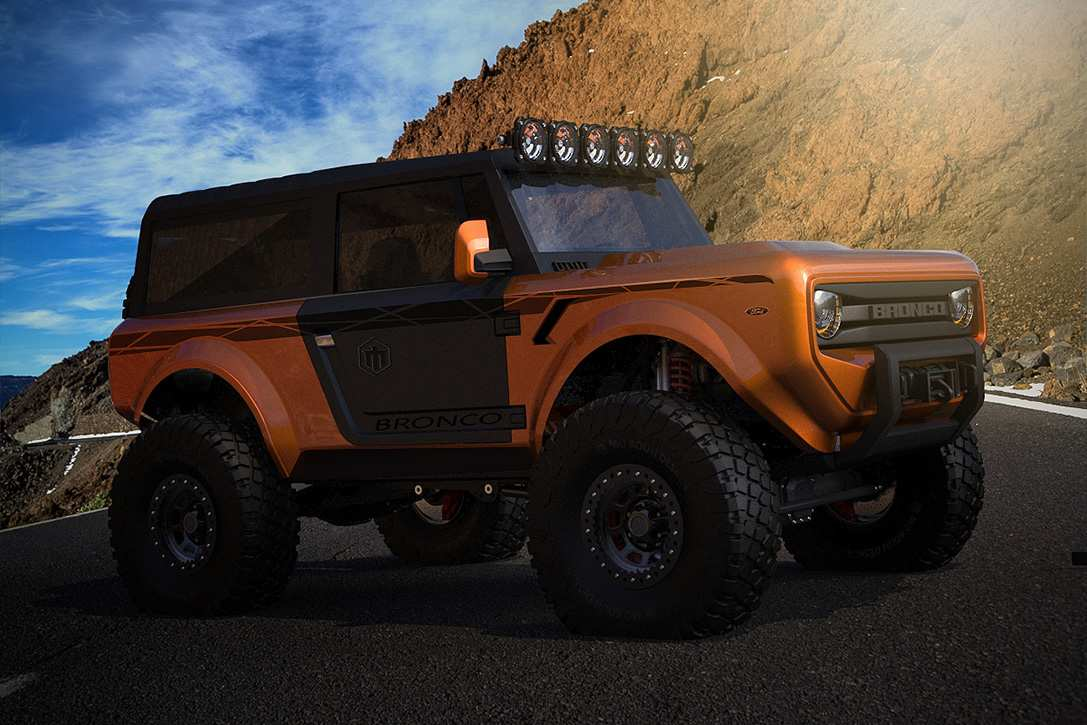 49 The 2020 Ford Bronco Leaked Redesign by 2020 Ford Bronco Leaked
