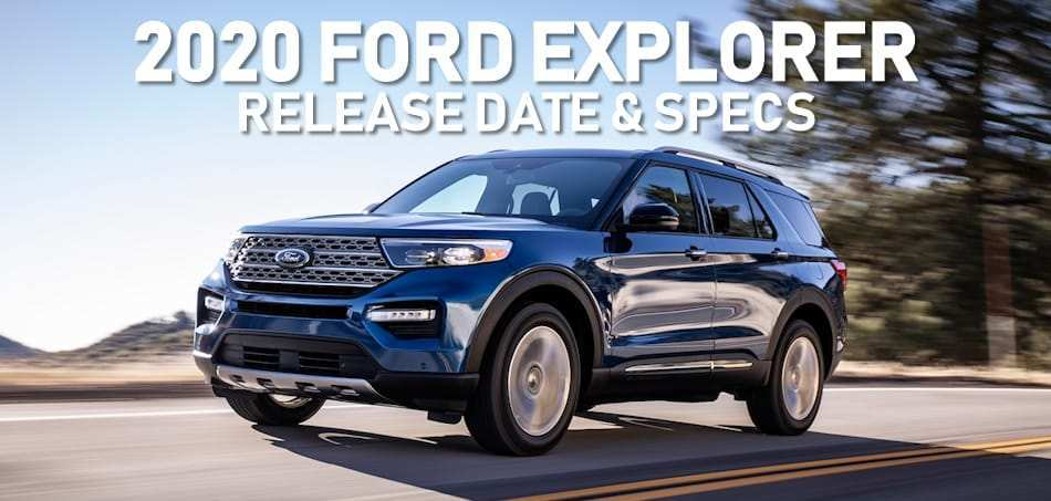 50 The When Can You Buy A 2020 Ford Explorer Interior with When Can You Buy A 2020 Ford Explorer