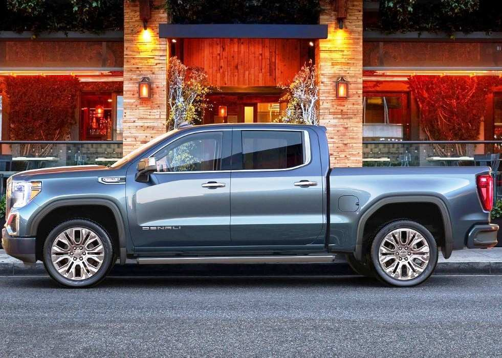 51 All New 2020 Gmc Sierra Interior Release by 2020 Gmc Sierra Interior