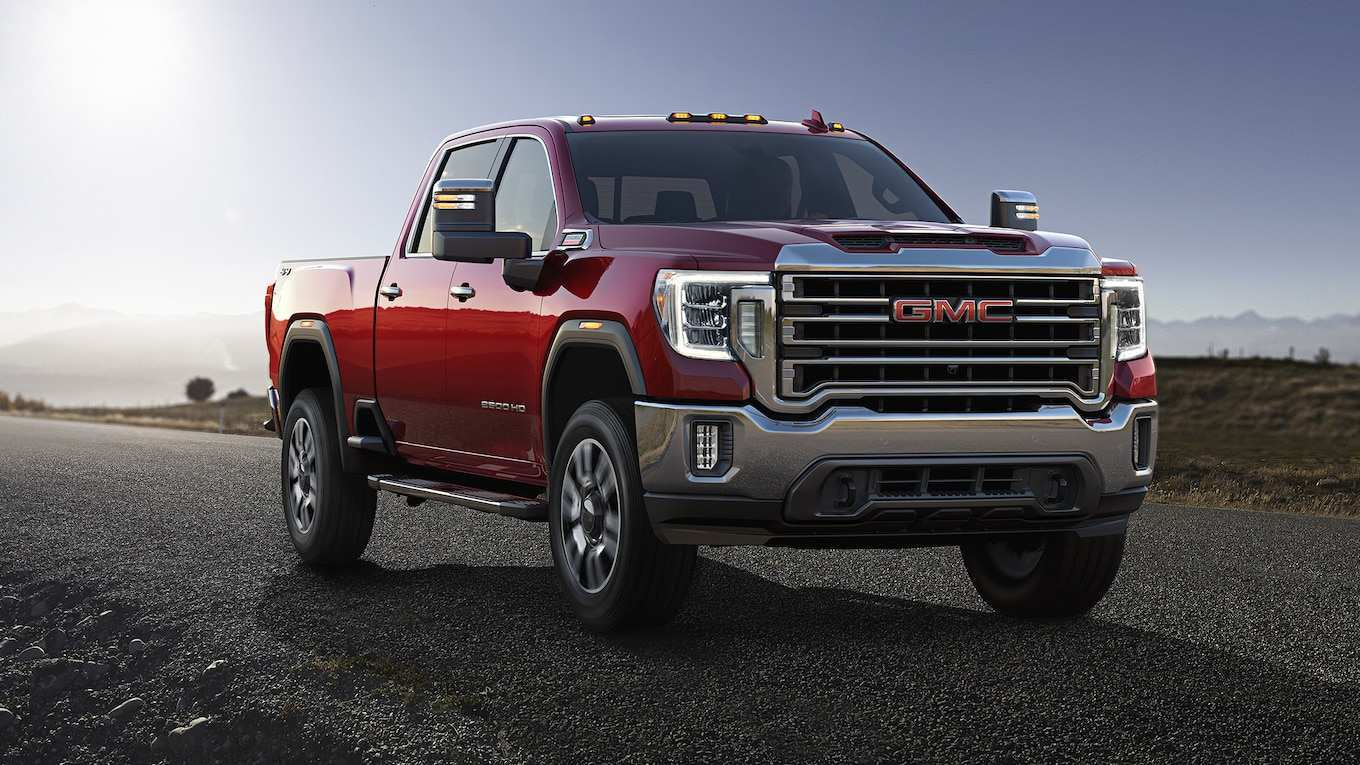 51 Gallery of 2020 Gmc 2500 Interior Model with 2020 Gmc 2500 Interior