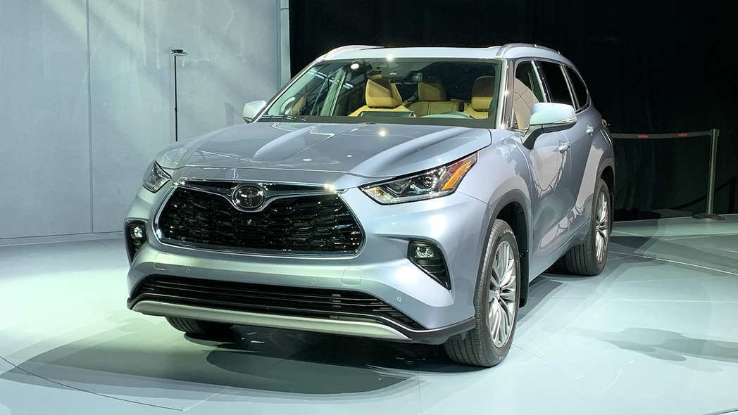 51 Great Toyota Highlander 2020 Redesign Wallpaper for Toyota Highlander 2020 Redesign