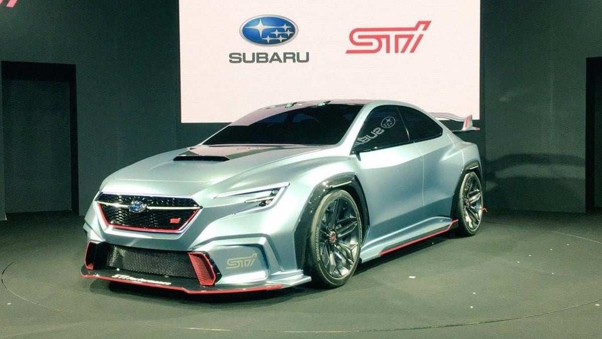 52 All New Subaru Sti Wrx 2020 Release for Subaru Sti Wrx 2020