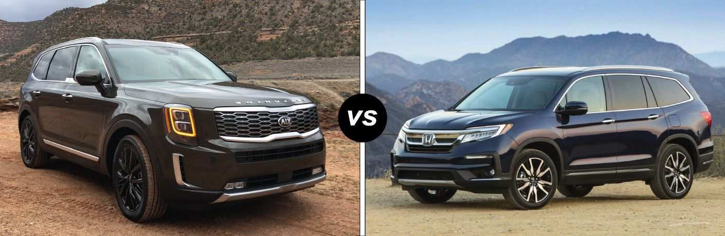 52 New 2020 Kia Telluride Vs Honda Pilot Price for 2020 Kia Telluride Vs Honda Pilot