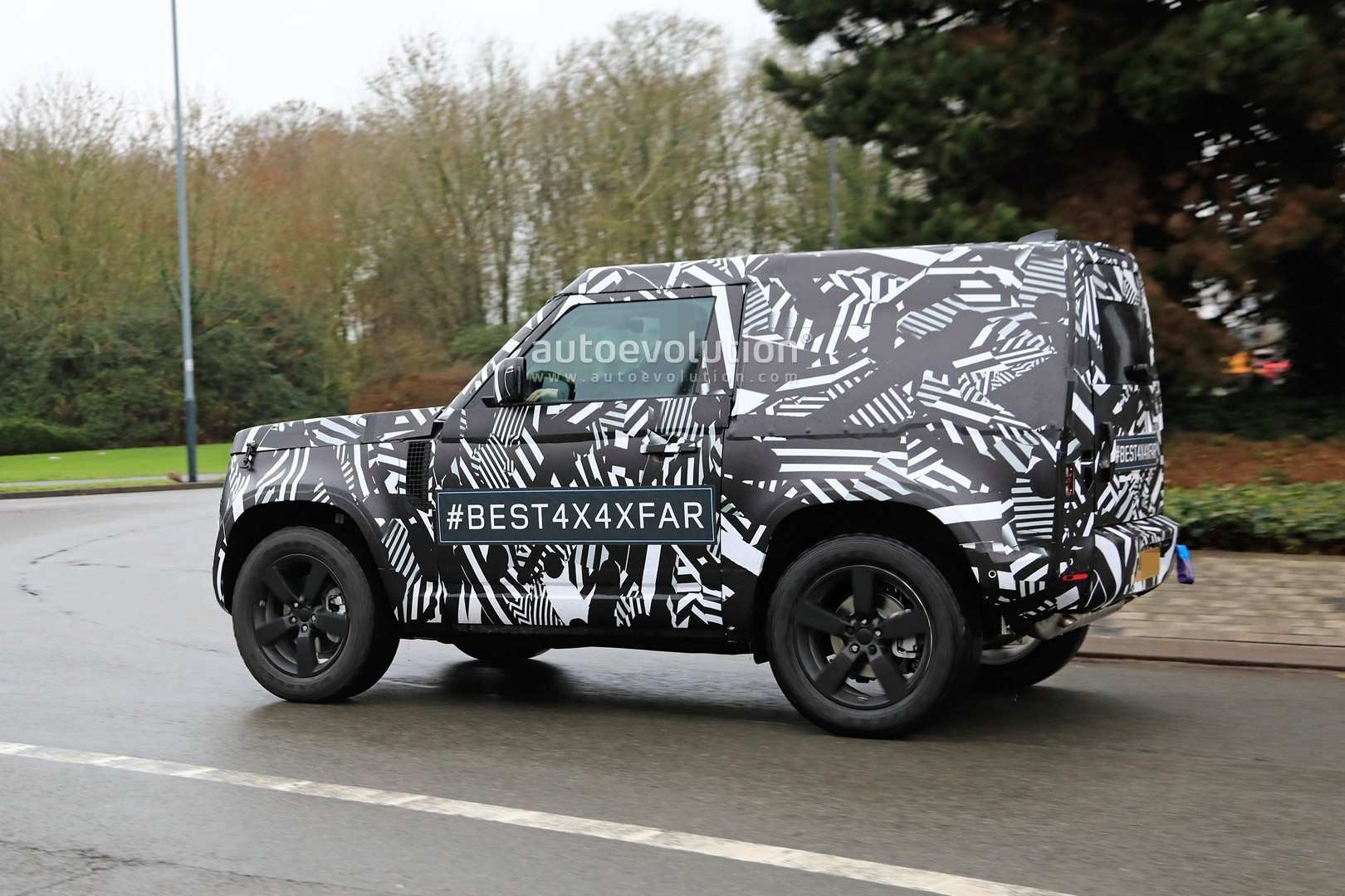 52 The Jeep Defender 2020 Spy Shoot for Jeep Defender 2020