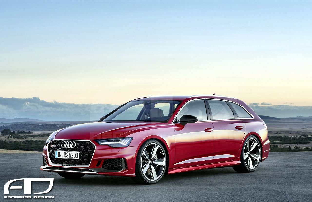 53 New 2020 Audi A6 Wagon Model by 2020 Audi A6 Wagon