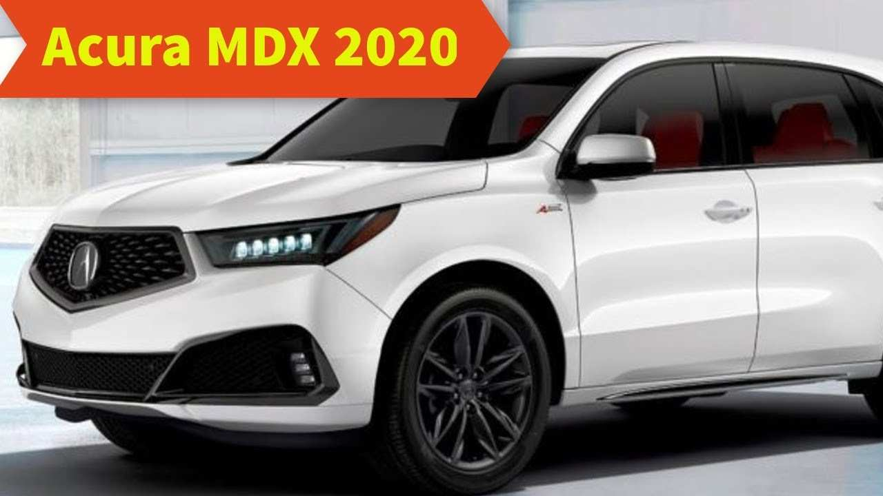 54 All New 2020 Acura Mdx Detroit Auto Show Style with 2020 Acura Mdx Detroit Auto Show