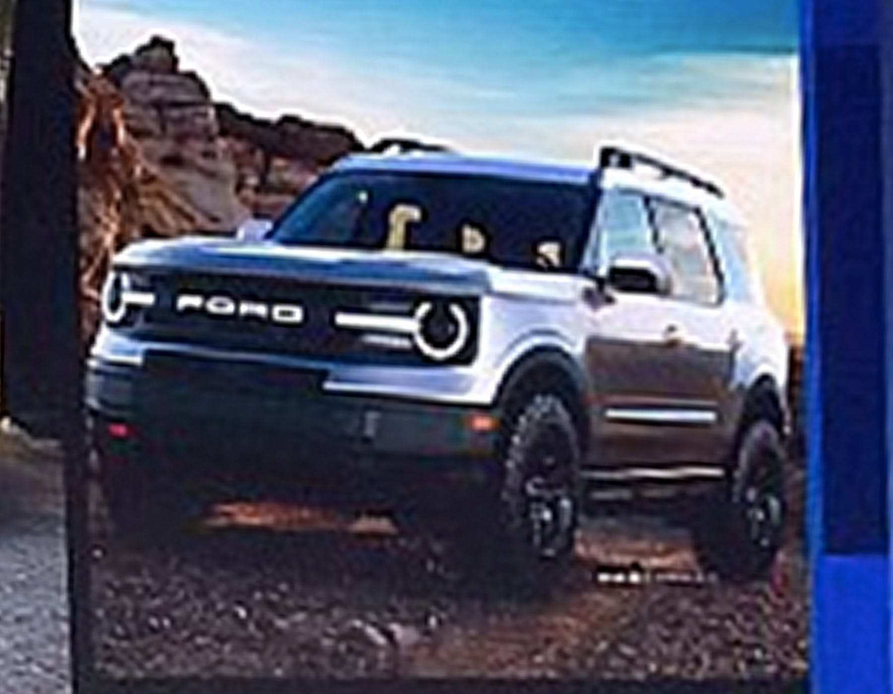 54 All New 2020 Ford Bronco Leaked Images for 2020 Ford Bronco Leaked