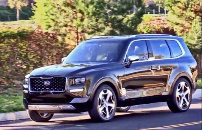 54 All New 2020 Kia Telluride Dimensions New Review for 2020 Kia Telluride Dimensions