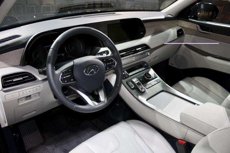 54 Gallery of Hyundai Palisade 2020 Interior First Drive for Hyundai Palisade 2020 Interior