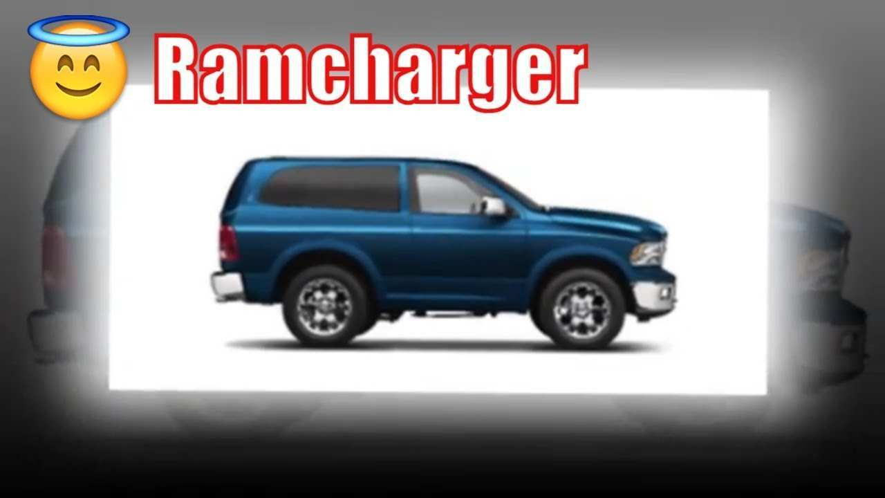 55 All New Dodge Ramcharger 2020 Photos with Dodge Ramcharger 2020