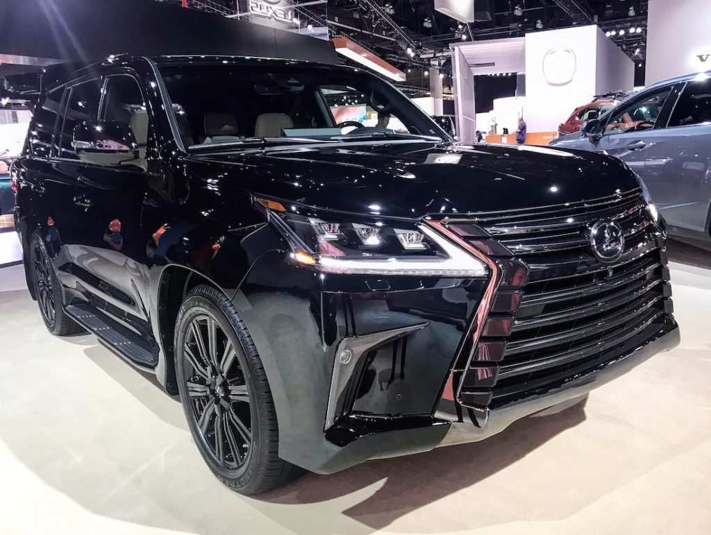 55 Gallery of Lexus Lx 570 Black Edition 2020 Images by Lexus Lx 570 Black Edition 2020