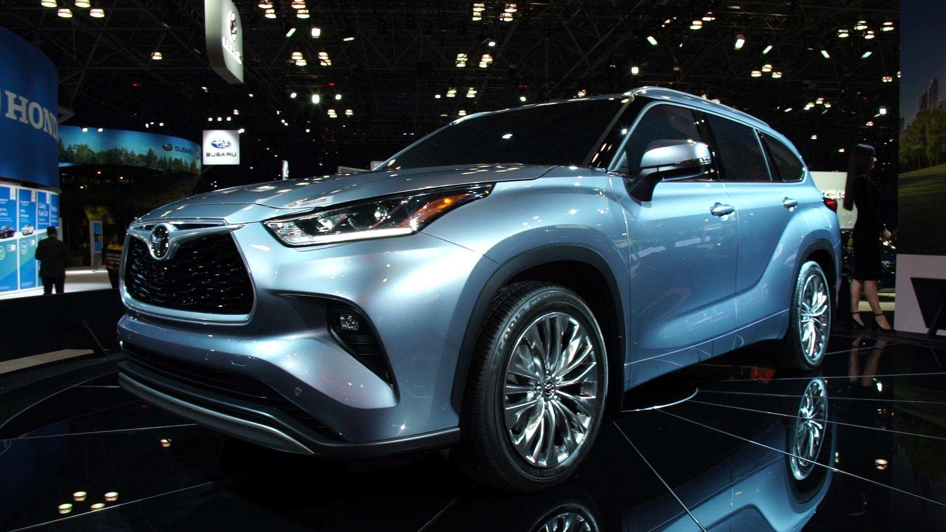 55 New Toyota Highlander 2020 Redesign Specs and Review by Toyota Highlander 2020 Redesign
