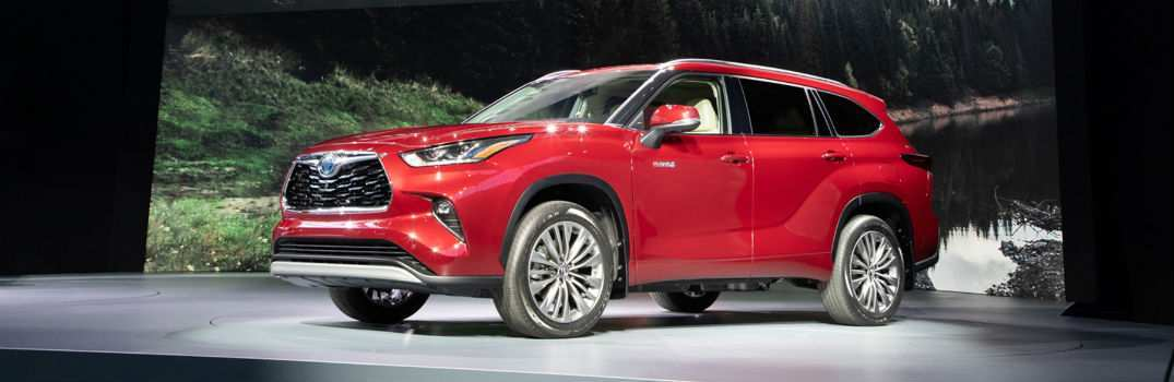 55 New Toyota Highlander 2020 Release Date Model with Toyota Highlander 2020 Release Date