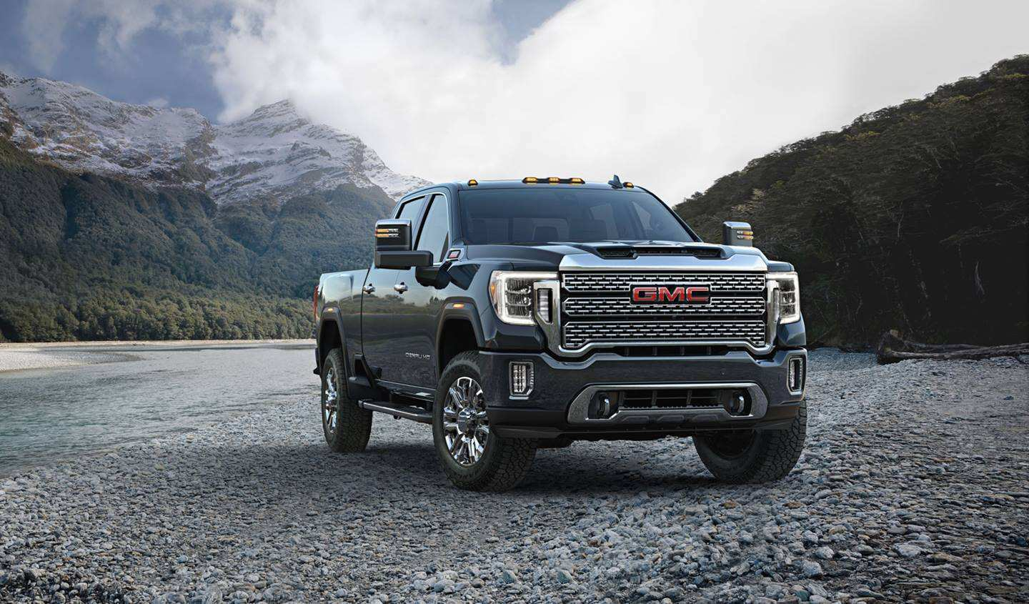 56 Gallery of 2020 Gmc Sierra Hd Interior Spy Shoot for 2020 Gmc Sierra Hd Interior