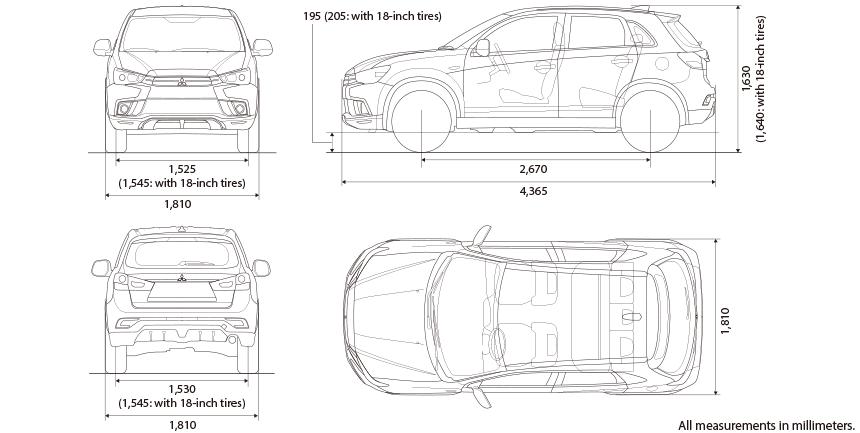 57 Concept of Mitsubishi Asx 2020 Dimensions New Review by Mitsubishi Asx 2020 Dimensions