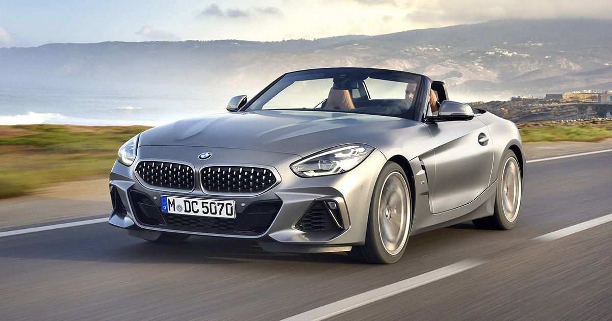 58 Concept of BMW Z4 Coupe 2020 First Drive for BMW Z4 Coupe 2020