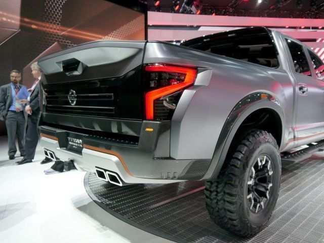 58 Great 2020 Nissan Titan Warrior Price Exterior for 2020 Nissan Titan Warrior Price