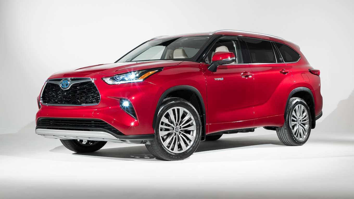 58 The Toyota Kluger New Model 2020 Redesign and Concept by Toyota Kluger New Model 2020