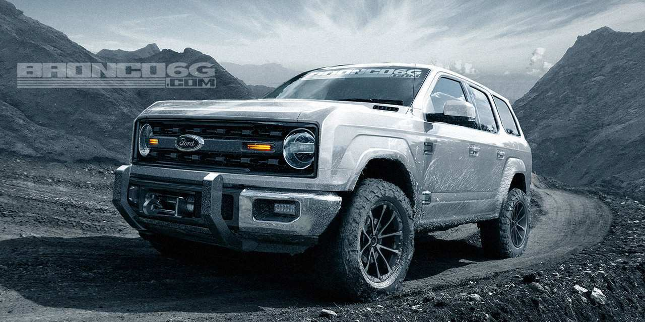 59 Best Review Release Date Of 2020 Ford Bronco Release by Release Date Of 2020 Ford Bronco