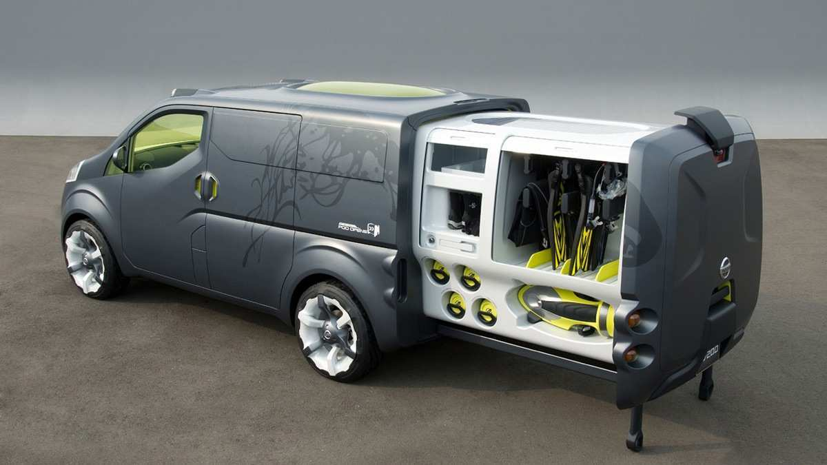 60 Gallery of Nissan Nv 2020 New Concept with Nissan Nv 2020