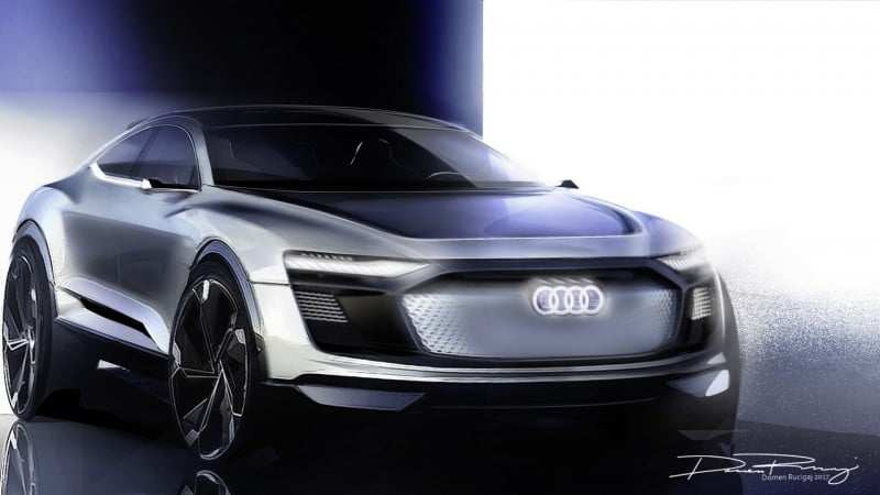 61 All New Audi New Electric Car 2020 First Drive with Audi New Electric Car 2020