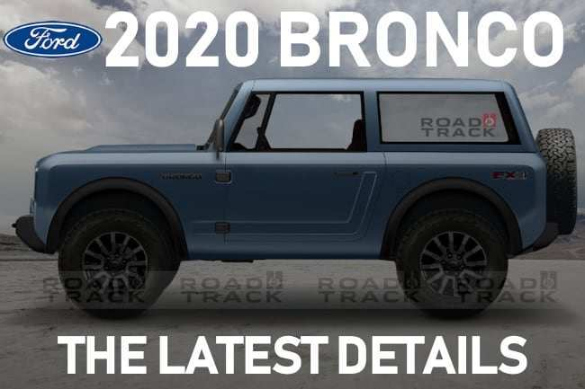 61 Concept of Ford Bronco 2020 Images Redesign and Concept by Ford Bronco 2020 Images