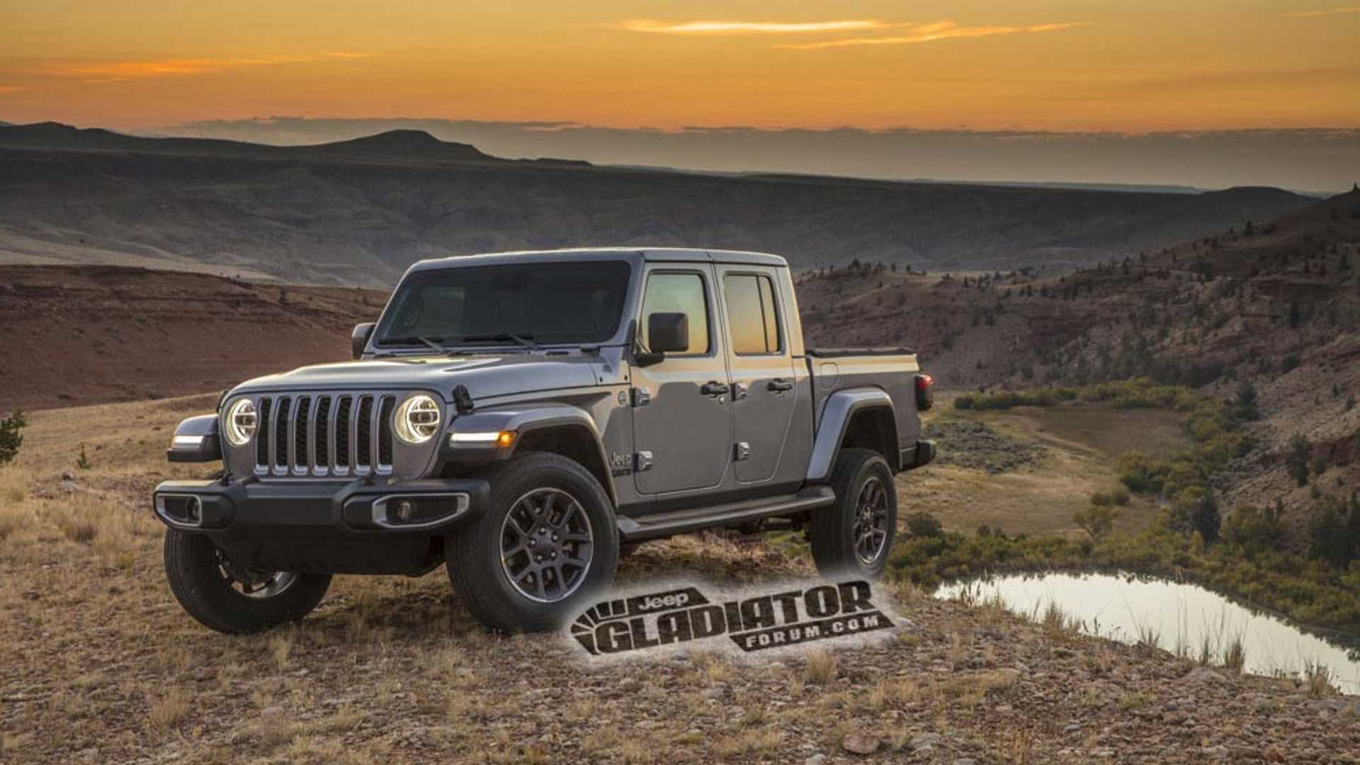 61 Concept of Jeep Gladiator Images 2020 Exterior for Jeep Gladiator Images 2020