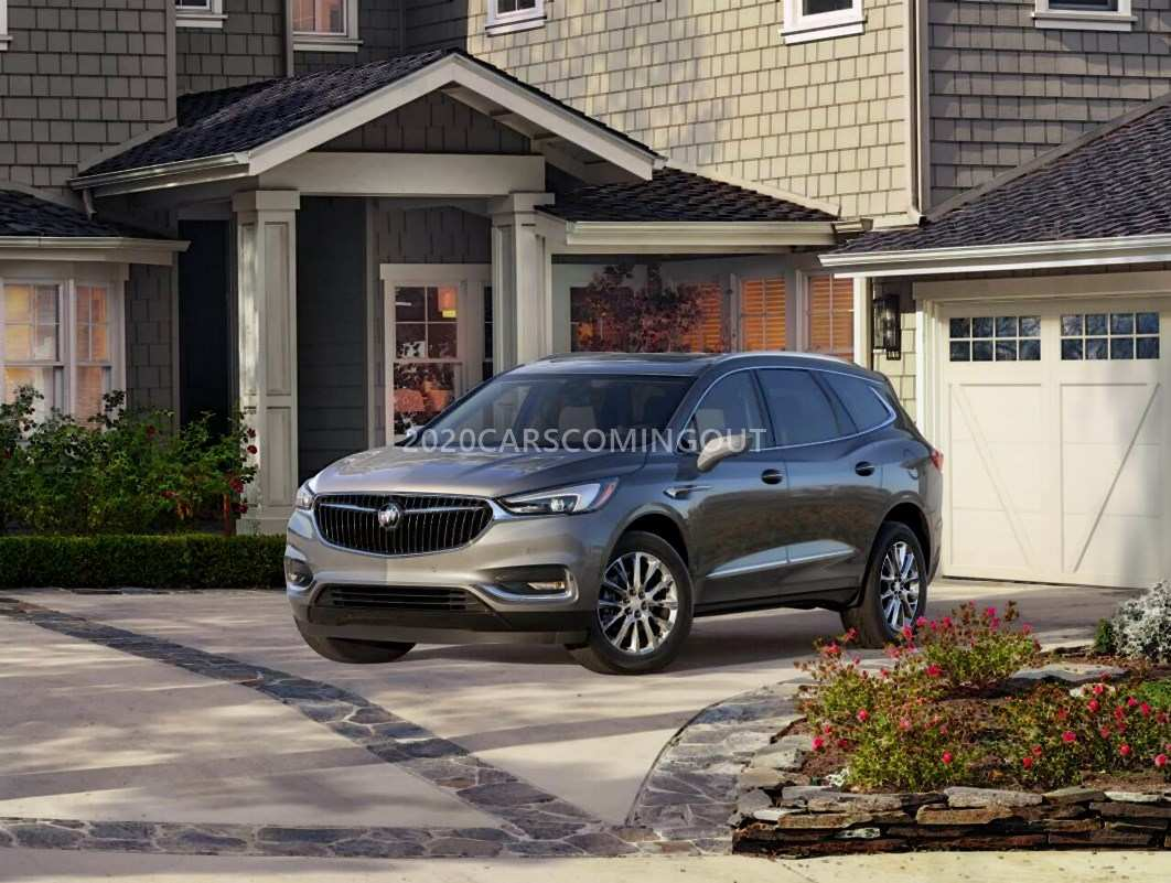 62 Concept of 2020 Buick Enclave Release Date Release by 2020 Buick Enclave Release Date