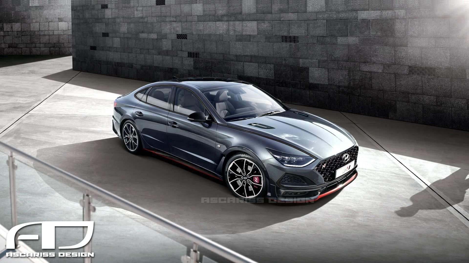 62 Concept of 2020 Hyundai Sonata N Line Exterior with 2020 Hyundai Sonata N Line