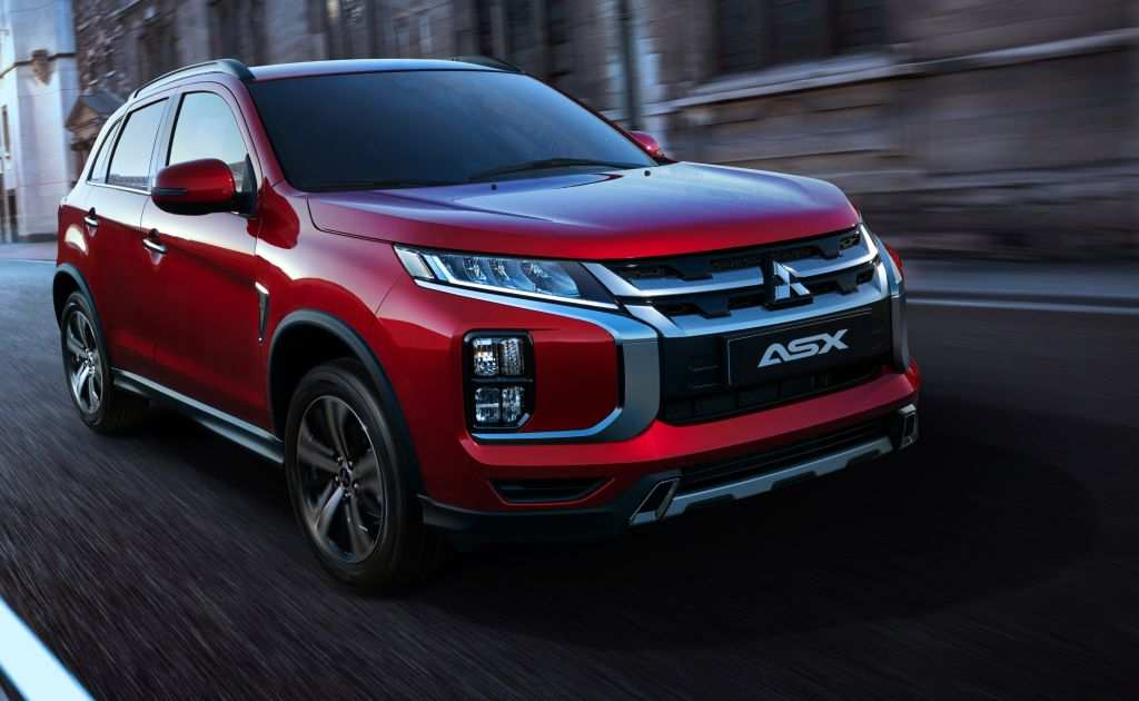 62 Concept Of Mitsubishi Asx Facelift 2020 Release Date For