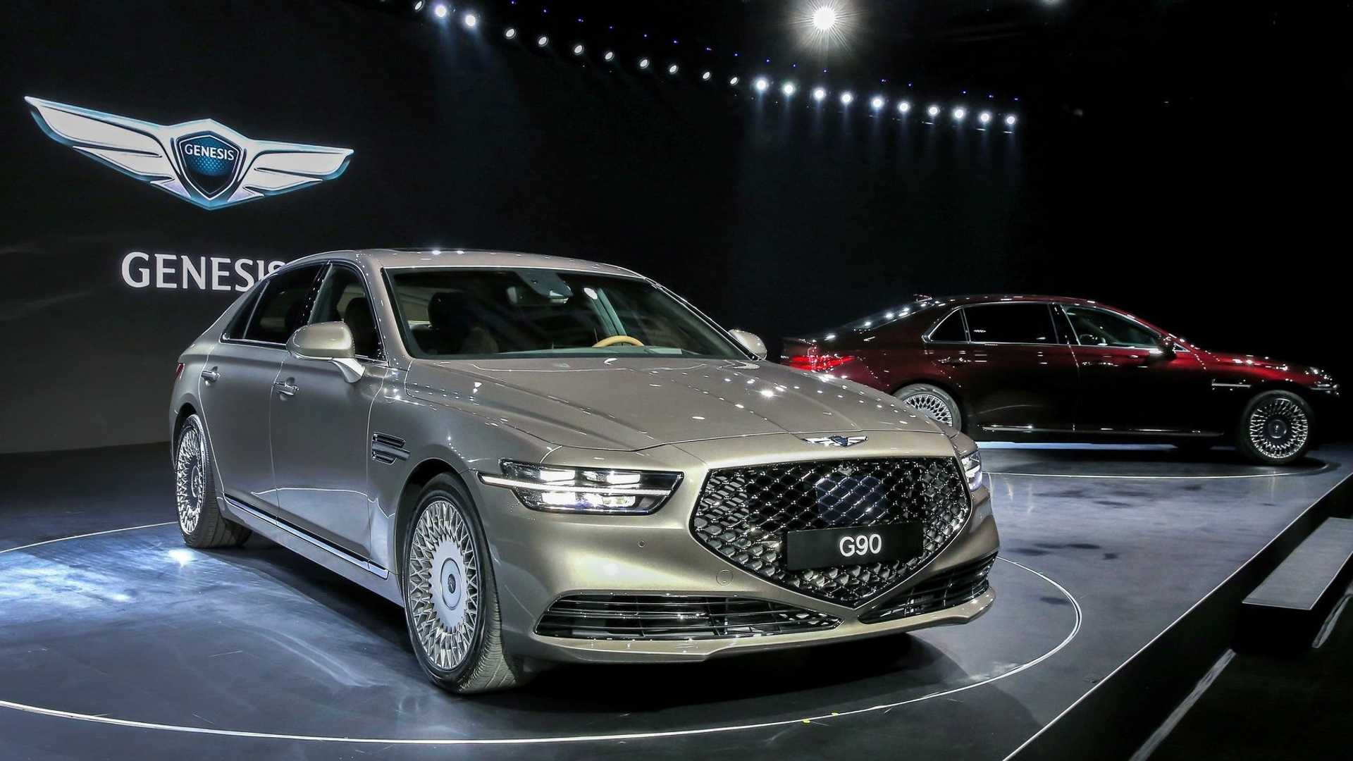 62 Gallery of Hyundai Genesis G90 2020 Release with Hyundai Genesis G90 2020