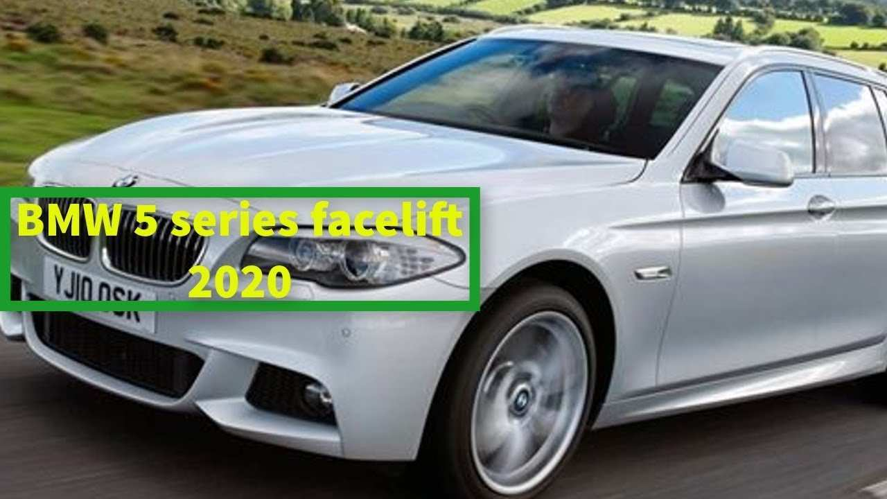 63 Gallery of BMW 5 Series Update 2020 Pictures by BMW 5 Series Update 2020