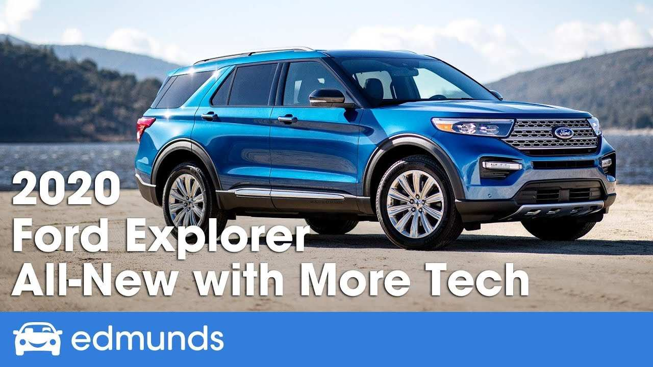 63 New Ford New Explorer 2020 New Review by Ford New Explorer 2020